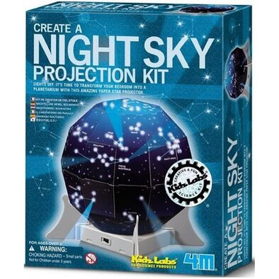 4M KidzLabs Create A Night Sky Projecting Kit