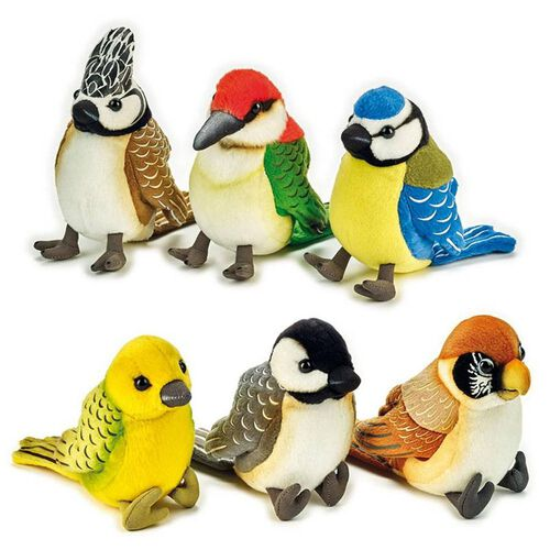 National Geographic Lelly Pelluche Colourful Bird - Assorted