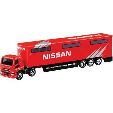 Tomica Nissan Mobile Headquarters Transporter