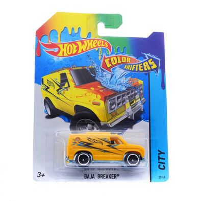 Hot Wheels Colour Shifters Baja Breaker
