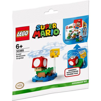 Gift With Purchase - LEGO Super Mushroom Expansion Set - NOT FOR SALE