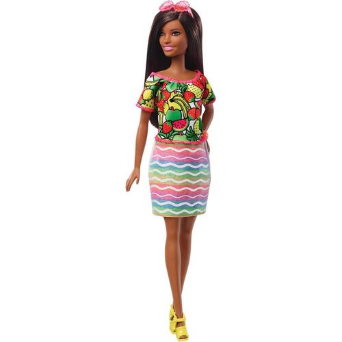 Barbie Crayola Rainbow Fruit Surprise Doll and Fashions