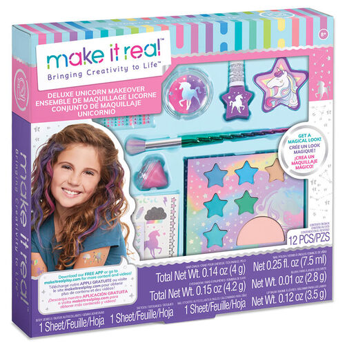 Make It Real Deluxe Unicorn Makeup Makeover