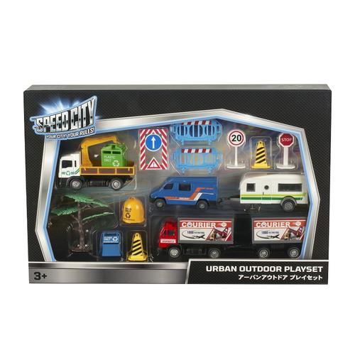 Speed City Urban Outdoor Playset