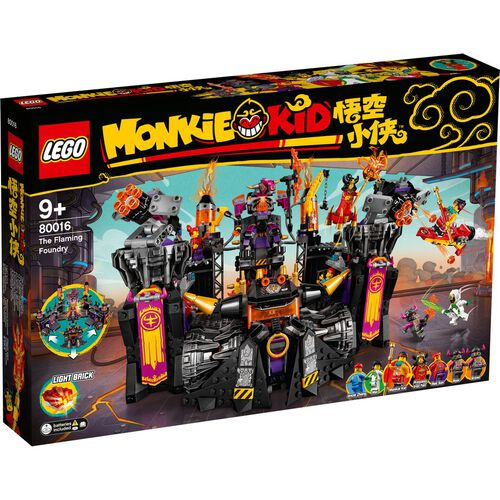 LEGO Monkie Kid The Flaming Foundry 80016