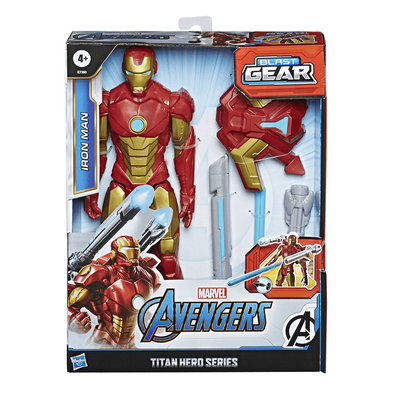 Marvel Avengers Titan Hero Series Blast Gear Iron Man