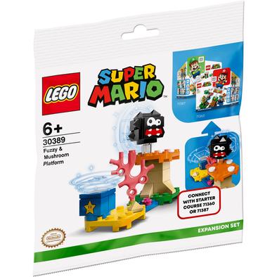 LEGO Super Mario Fuzzy & Mushroom Platform 30389