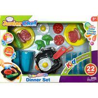Junior Chef 22 Pieces Dinner Set