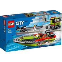LEGO City Race Boat Transporter 60254