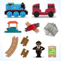 Thomas & Friends Wood Racing Figure-8 Set