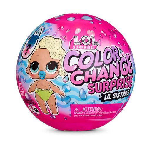 L.O.L. Surprise! Color Change Lil Sisters - Assorted