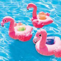 Intex Flamingo Drink Holders 3 Pack