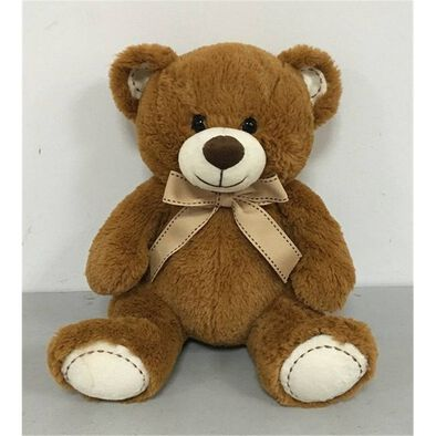 Animal Alley 10 Inch Sitting Bear (Brown)