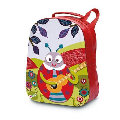 Oops On The Go Collection Happy Backpack! Ladybug