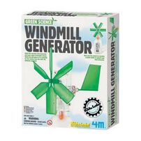 4M Kidz Labs Green Science Windmill Generator