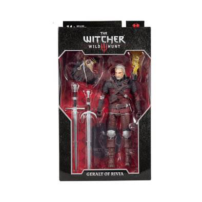 DC The Witcher Gaming 7 Inch Figure Geralt Of Rivia