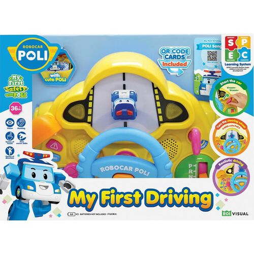 Robocar Poli My First Driving