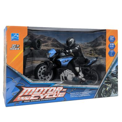 Motor-Cycle Real Racing Experience 1:10 R/C Street Bikes - Assorted