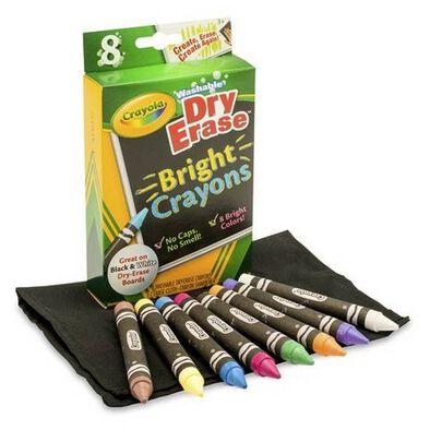 Crayola Dry Erase Crayons Brights