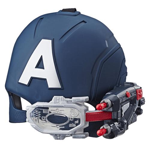 Marvel Avengers Captain America Scope Vision Helmet