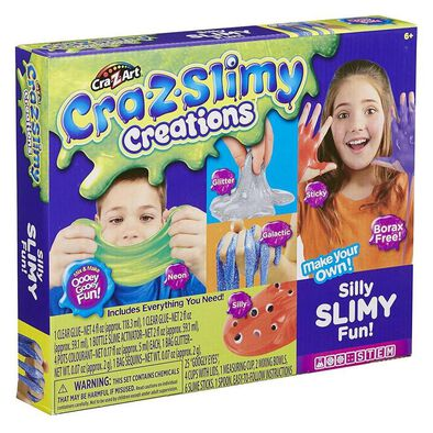 Cra-Z-Art Cra-Z-Slimy Creations Silly Slimy Fun!