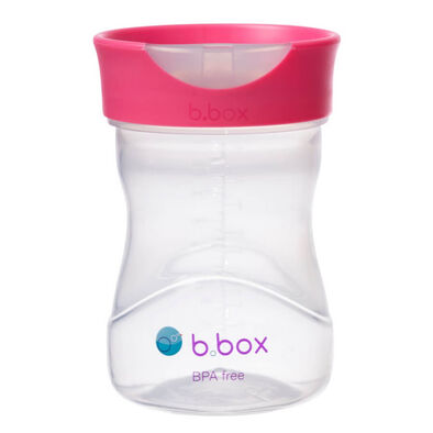 B.Box Training Cup 8oz Raspberry