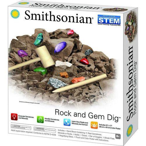 Smithsonian Rock And Gem Dig