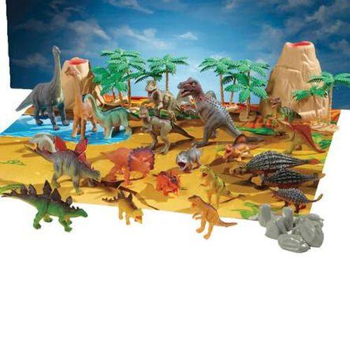 Animal Zone Dino Tub (40Pcs)