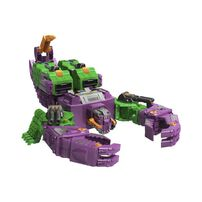 Transformers Toys Generations War for Cybertron: Earthrise Titan WFC-E25 Scorponok Triple Changer Action Figure