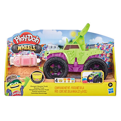 Play-Doh Wheels Chompin Monster Truck