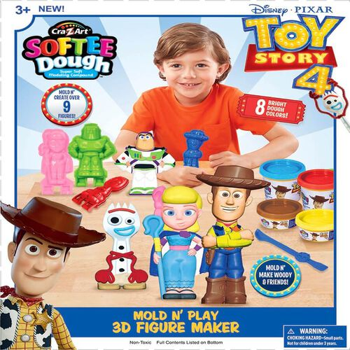 Cra-Z-Art Toy Story Mold N' Play 3D Figure Maker
