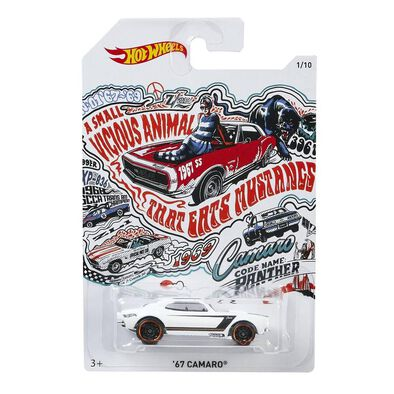 Hot Wheels 1:64 50Th Anniversary Die Cast Vehicle Single Pack - Assorted