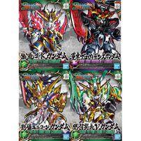 Gundam Universe Sd Gundam Sangokuden Zhang Fei God Gundam - Assorted