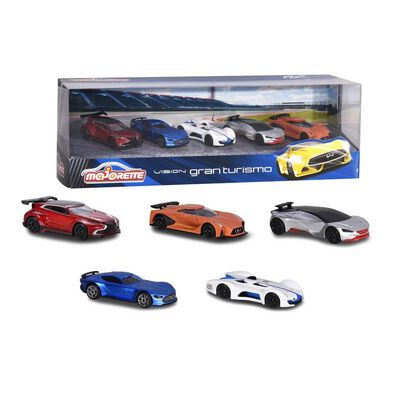 Majorette Vision Gran Turismo 5 Pieces Giftpack