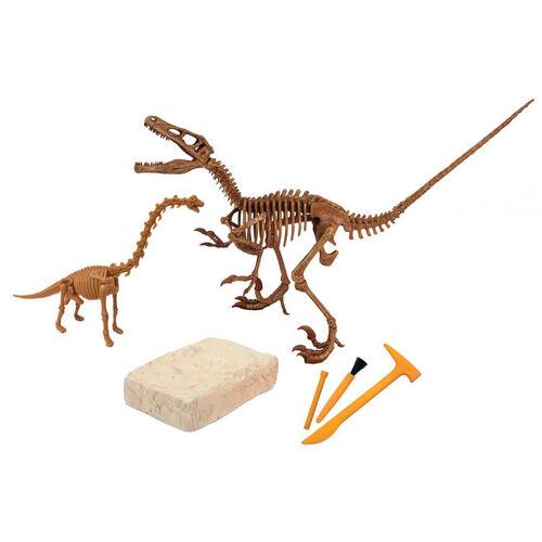 Uncle Milton Dr. Steve Hunters Velociraptor Skeleton