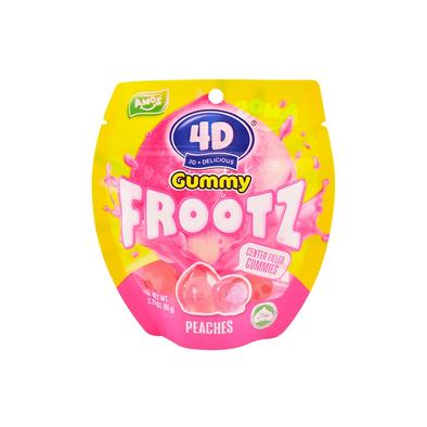 4D Gummy Fruit Peaches