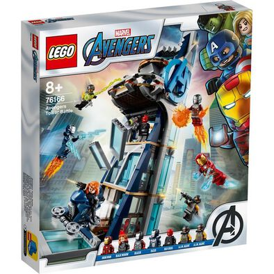 LEGO Marvel Avengers Movie 4 Avengers Tower Battle 76166
