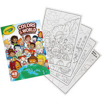 Crayola Colors Of The World Coloring Activity