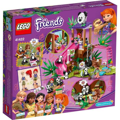 LEGO Friends Panda Jungle Tree House 41422