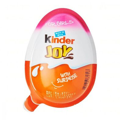 Kinder Joy With Surprise For Girls