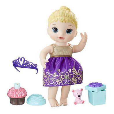 Baby Alive Cupcake Birthday Baby Bl