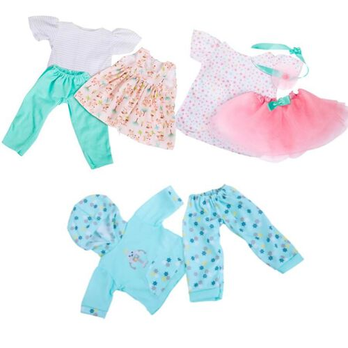 Perfectly Cute 14 Inch Baby Doll Outfit - Assorted
