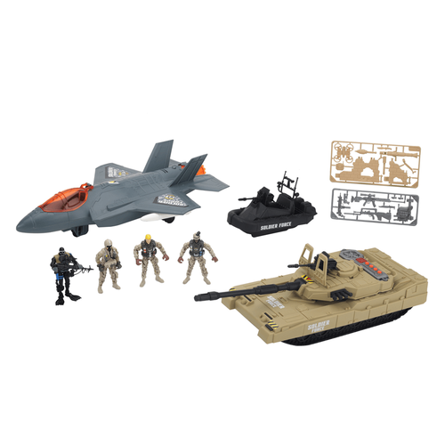 Soldier Force Military Vehicles Playset
