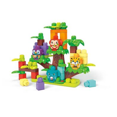 Mega Bloks First Builders Jungle Treehouse Band