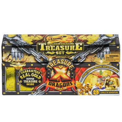 Treasure X S2 Dragons Gold Treasure Set