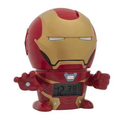 Bulbbotz Marvel 5 Inch Night Light Alarm Clock Iron Man