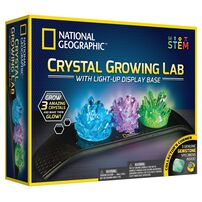 National Geographic Crystal Growing Lab with Light Up Display Base