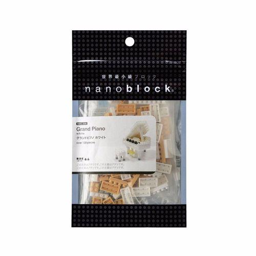 Nanoblock Grand Piano White