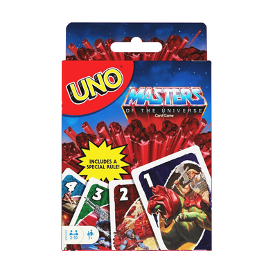 Uno Licensed Masters of the Universe Origins
