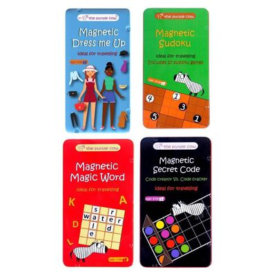 The Purple Cow Magnetic Ideal For Travelling 2 - Assorted